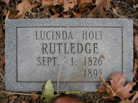 RUTLEDGE, LUCINDA - Boone County, Arkansas | LUCINDA RUTLEDGE - Arkansas Gravestone Photos