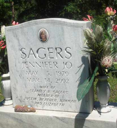 SAGERS, JENNIFER JO - Boone County, Arkansas | JENNIFER JO SAGERS - Arkansas Gravestone Photos