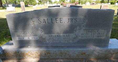 SALLEE, ARLENE MAE - Boone County, Arkansas | ARLENE MAE SALLEE - Arkansas Gravestone Photos