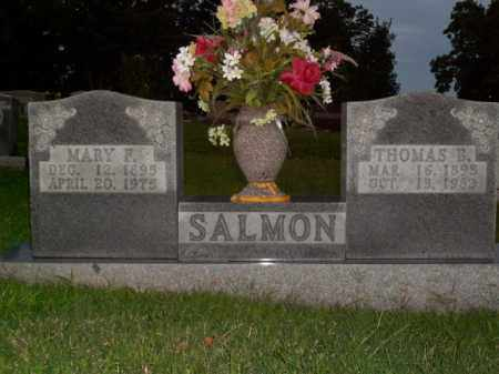 SALMON, MARY F. - Boone County, Arkansas | MARY F. SALMON - Arkansas Gravestone Photos