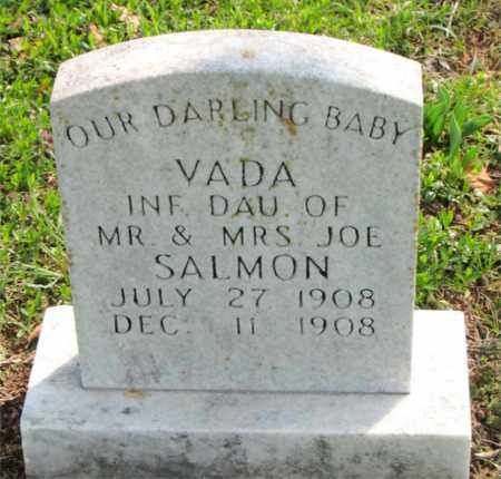 SALMON, VADA - Boone County, Arkansas | VADA SALMON - Arkansas Gravestone Photos