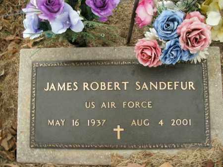 SANDEFUR  (VETERAN), JAMES ROBERT - Boone County, Arkansas | JAMES ROBERT SANDEFUR  (VETERAN) - Arkansas Gravestone Photos