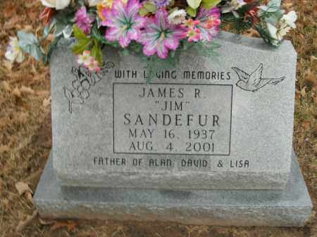 SANDEFUR, JAMES R. - Boone County, Arkansas | JAMES R. SANDEFUR - Arkansas Gravestone Photos