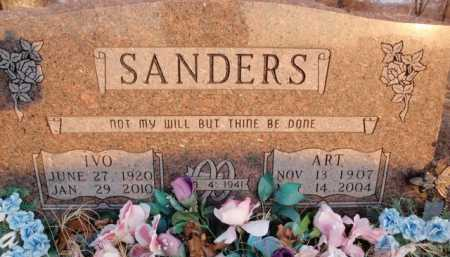 SANDERS, ART - Boone County, Arkansas | ART SANDERS - Arkansas Gravestone Photos