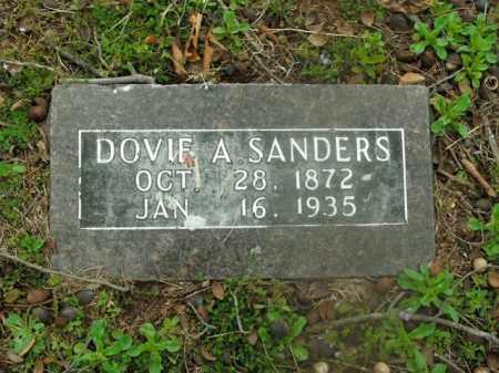 SANDERS, DOVIE A. - Boone County, Arkansas | DOVIE A. SANDERS - Arkansas Gravestone Photos
