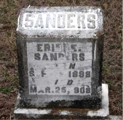 SANDERS, ERIC - Boone County, Arkansas | ERIC SANDERS - Arkansas Gravestone Photos