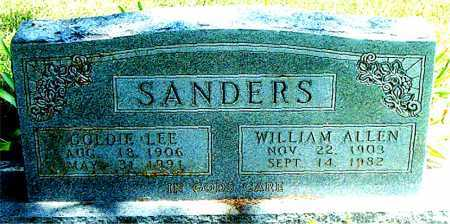 SANDERS, WILLIAM ALLEN - Boone County, Arkansas | WILLIAM ALLEN SANDERS - Arkansas Gravestone Photos