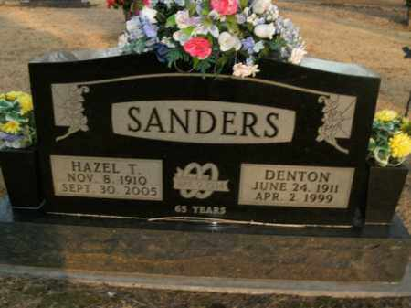 SANDERS, DENTON - Boone County, Arkansas | DENTON SANDERS - Arkansas Gravestone Photos