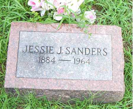 SANDERS, JESSIE J. - Boone County, Arkansas | JESSIE J. SANDERS - Arkansas Gravestone Photos