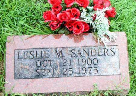 SANDERS, LESLIE  M. - Boone County, Arkansas | LESLIE  M. SANDERS - Arkansas Gravestone Photos