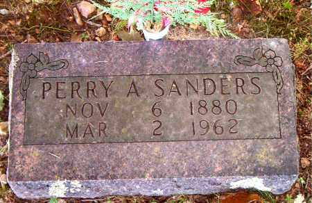 SANDERS, PERRY  A. - Boone County, Arkansas | PERRY  A. SANDERS - Arkansas Gravestone Photos