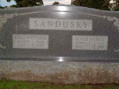 SANDUSKY, EDNA WHITAKER - Boone County, Arkansas | EDNA WHITAKER SANDUSKY - Arkansas Gravestone Photos