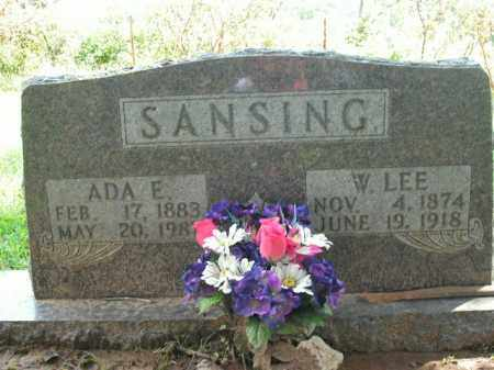 SANSING, WILLIAM LEE - Boone County, Arkansas | WILLIAM LEE SANSING - Arkansas Gravestone Photos