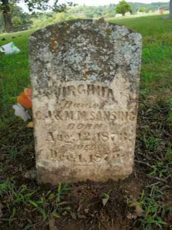 SANSING, VIRGINIA - Boone County, Arkansas | VIRGINIA SANSING - Arkansas Gravestone Photos