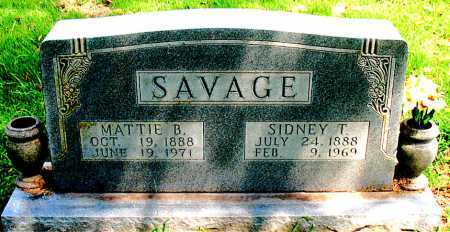 SAVAGE, SIDNEY - Boone County, Arkansas | SIDNEY SAVAGE - Arkansas Gravestone Photos