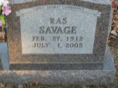 SAVAGE, RAS - Boone County, Arkansas | RAS SAVAGE - Arkansas Gravestone Photos