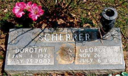 SCHERRER, GEORGE T. - Boone County, Arkansas | GEORGE T. SCHERRER - Arkansas Gravestone Photos