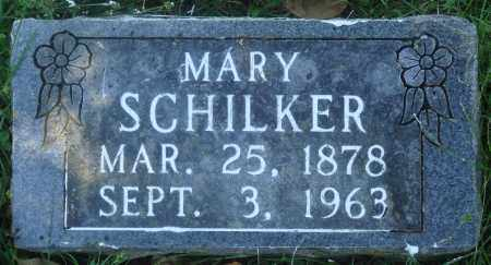 SCHILKER, MARY - Boone County, Arkansas   MARY SCHILKER - Arkansas Gravestone Photos