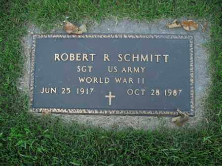 SCHMITT  (VETERAN WWII), ROBERT R - Boone County, Arkansas | ROBERT R SCHMITT  (VETERAN WWII) - Arkansas Gravestone Photos