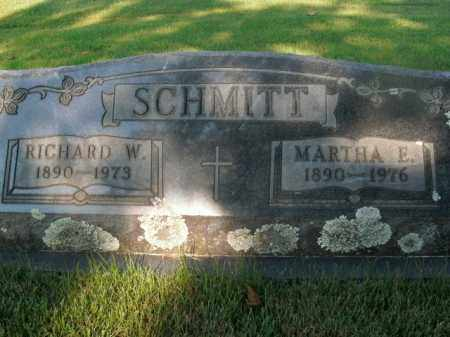 SCHMITT, RICHARD W. - Boone County, Arkansas | RICHARD W. SCHMITT - Arkansas Gravestone Photos