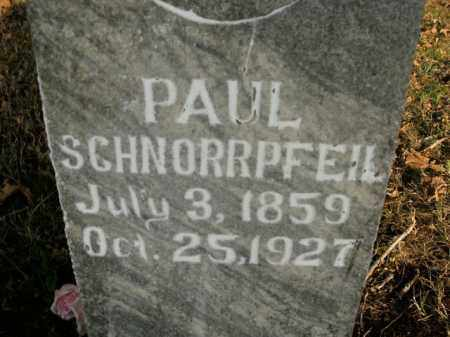 SCHNORRPFEIL, PAUL - Boone County, Arkansas | PAUL SCHNORRPFEIL - Arkansas Gravestone Photos