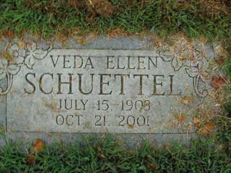 SCHUETTEL, VEDA ELLEN - Boone County, Arkansas | VEDA ELLEN SCHUETTEL - Arkansas Gravestone Photos