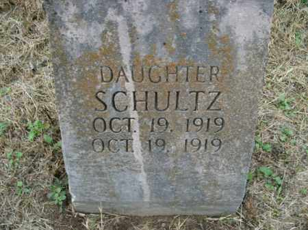 SCHULTZ, DAUGHTER - Boone County, Arkansas | DAUGHTER SCHULTZ - Arkansas Gravestone Photos