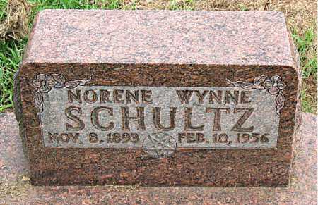 SCHULTZ, NORENE WYNNE - Boone County, Arkansas | NORENE WYNNE SCHULTZ - Arkansas Gravestone Photos