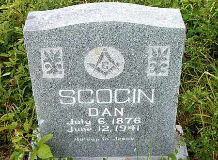 SCOGIN, DAN - Boone County, Arkansas | DAN SCOGIN - Arkansas Gravestone Photos