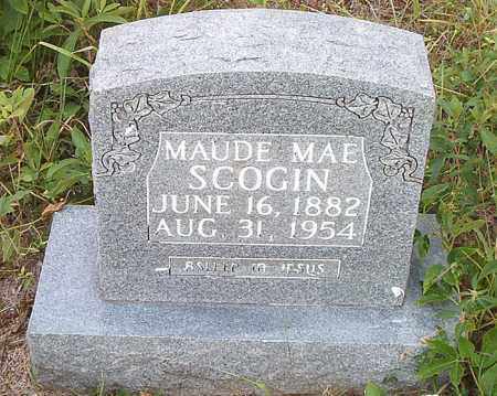SCOGIN, MAUDE MAE - Boone County, Arkansas | MAUDE MAE SCOGIN - Arkansas Gravestone Photos
