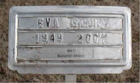 SCOTT, EVA - Boone County, Arkansas | EVA SCOTT - Arkansas Gravestone Photos
