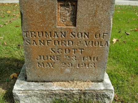 SCOTT, TRUMAN - Boone County, Arkansas | TRUMAN SCOTT - Arkansas Gravestone Photos