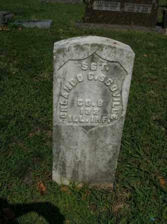 SCOVILLE  (VETERAN UNION), ORLANDO C. - Boone County, Arkansas | ORLANDO C. SCOVILLE  (VETERAN UNION) - Arkansas Gravestone Photos