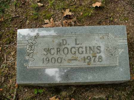 SCROGGINS, D.L. - Boone County, Arkansas | D.L. SCROGGINS - Arkansas Gravestone Photos