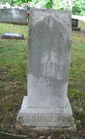 SCROGGINS, HOMER B. - Boone County, Arkansas | HOMER B. SCROGGINS - Arkansas Gravestone Photos