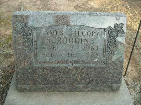 SCROGGINS, JAMES GREGORY - Boone County, Arkansas | JAMES GREGORY SCROGGINS - Arkansas Gravestone Photos