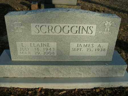 SCROGGINS, L. ELAINE - Boone County, Arkansas | L. ELAINE SCROGGINS - Arkansas Gravestone Photos