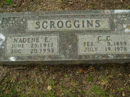 SCROGGINS, C.C. - Boone County, Arkansas | C.C. SCROGGINS - Arkansas Gravestone Photos