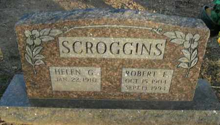 SCROGGINS, ROBERT F. - Boone County, Arkansas | ROBERT F. SCROGGINS - Arkansas Gravestone Photos