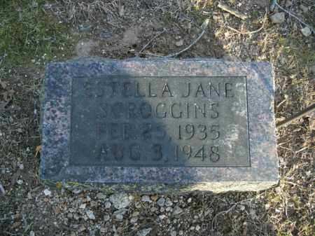 SCROGGINS, STELLA JANE - Boone County, Arkansas | STELLA JANE SCROGGINS - Arkansas Gravestone Photos