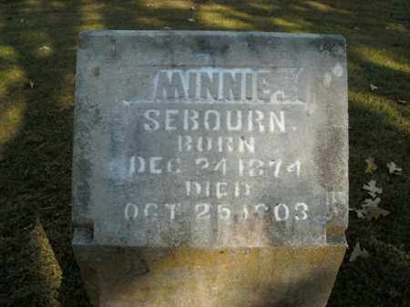 SEBOURN, MINNIE - Boone County, Arkansas | MINNIE SEBOURN - Arkansas Gravestone Photos