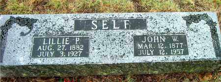 SELF, LILLIE P. - Boone County, Arkansas | LILLIE P. SELF - Arkansas Gravestone Photos