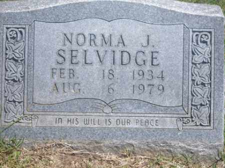 SELVIDGE, NORMA JEAN - Boone County, Arkansas | NORMA JEAN SELVIDGE - Arkansas Gravestone Photos