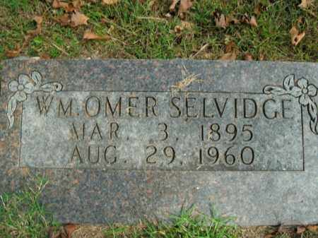 SELVIDGE, WILLIAM OMER - Boone County, Arkansas | WILLIAM OMER SELVIDGE - Arkansas Gravestone Photos