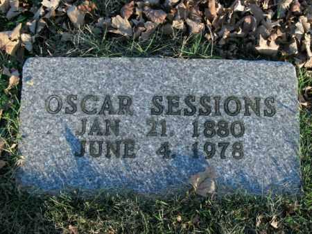 SESSIONS, OSCAR - Boone County, Arkansas   OSCAR SESSIONS - Arkansas Gravestone Photos