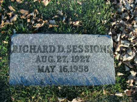 SESSIONS, RICHARD DALE - Boone County, Arkansas | RICHARD DALE SESSIONS - Arkansas Gravestone Photos