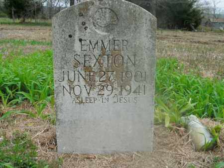 SEXTON, EMMER - Boone County, Arkansas | EMMER SEXTON - Arkansas Gravestone Photos