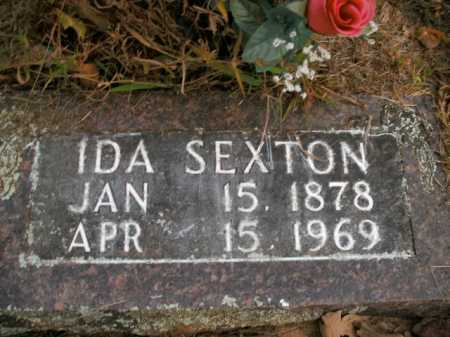 SEXTON, IDA - Boone County, Arkansas | IDA SEXTON - Arkansas Gravestone Photos