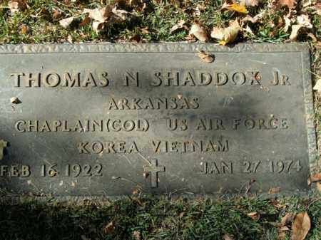 SHADDOX, JR (VETERAN 2 WARS), THOMAS N - Boone County, Arkansas | THOMAS N SHADDOX, JR (VETERAN 2 WARS) - Arkansas Gravestone Photos