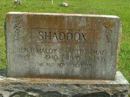 SHADDOX, BENJAMIN MALOY - Boone County, Arkansas | BENJAMIN MALOY SHADDOX - Arkansas Gravestone Photos